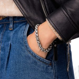 Chain, clasp — stainless steel 304