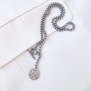 Pendant, chain, ring toggle clasps stainless steel 304.