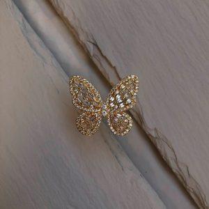 Belova Jewellery Ring Butterfly_1