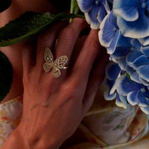 Belova Jewellery Ring Butterfly_3