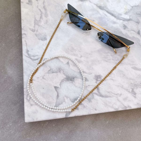 Shell pearl, chain – stainless steel 304.